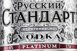 Russian Standard Platinum Vodka. Photo / Supplied