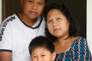 Lourdes Sarmiento cannot afford school fees for her sons. Photo / Dean Purcell, NZ Herald