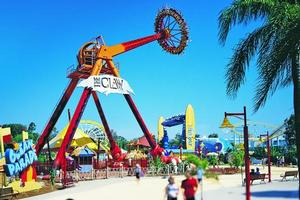 Dreamworld on the Gold Coast. Photo / Tourism Queensland