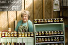Monica Holmes' jam, pickles, jellies and pastes are a favourite with Clevedon Farmers' Market regulars. Photo / Babiche Martens