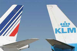 Airlines Air France and KLM, which merged in 2004, say from April 1 they will begin charging obese passengers more if they can't fit into a single seat. Photo / Wikimedia Commons