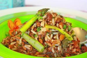 Moroccan wild rice salad. Photo / Supplied