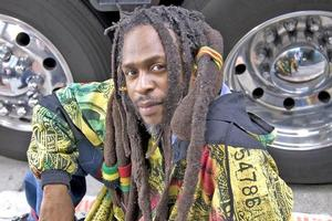Steel Pulse jumped on the punk rock wave that swept through England in the 1970s, says front man David Hinds. Photo / Supplied