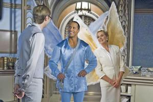 Dwayne Johnson cements himself as a family-friendly star in Tooth Fairy. Photo / Supplied