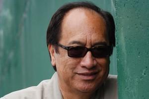 Author Witi Ihimaera. Photo / Richard Robinson