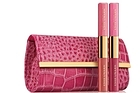 Estee Lauder's Breast Cancer Month cosmetics bag. Photo / Supplied