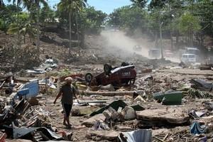 Nearly 200 people died in the 2009 Samoan tsunami. Photo / Greg Bowker