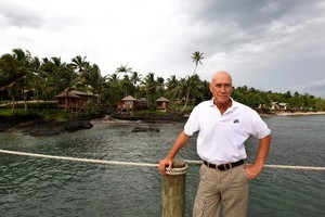 Joe Annandale has spent the past year rebuilding the Sinalei Reef Resort and Spa. Photo / Brett Phibbs