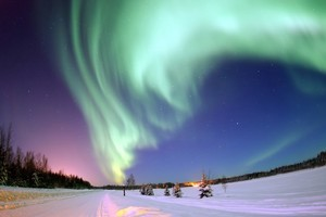 Watch the Aurora Borealis phenomenon in remote areas of Norway, Finland, Sweden and Iceland, away from man-made lights. Photo / Wikimedia Commons