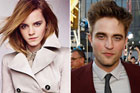 Britain's best dressed woman and man, Emma Watson and Robert Pattinson. Photos / Supplied