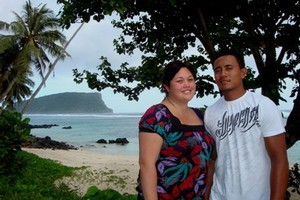 Shari Brell from Auckland, New Zealand met the man of her dreams on the day the tsunami hit Samoa. Photo / Cherelle Jackson