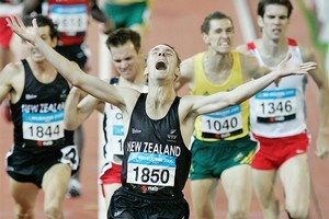 Nick Willis won gold at the last Commonwealth Games in Melbourne. Photo / Chris Skelton
