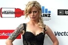 Gin Wigmore arrives on the red carpet for the 2010 Vodafone New Zealand Music Awards. Photo / Dean Purcell
