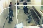 CCTV footage shows an unarmed man being tasered 13 times by police at the East Perth watchhouse. The man had refused to undergo a strip search. Photo / Supplied