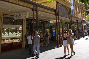 Bustling Rundle St offers some of Adelaide's best shopping. Photo / Supplied