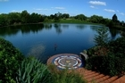 The lake at Hamilton Gardens. Photo / Supplied