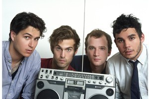 Vampire Weekend is one of a slew of indie bands supportive of musician/clothing collaborations. Photo / Supplied