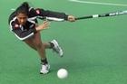 Black Sticks team striker Piki Hamahona. Photo / Greg Bowker