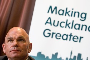 Act's Rodney Hide introduced the Supercity idea to Aucklanders but his right-aligned candidates appear to have paid the price of unwelcome publicity during the campaign. Photo / NZ Herald