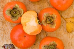 Try growing persimmons. Photo / Babiche Martens