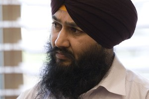 Daljit Singh in court on October 5. Photo / Richard Robinson