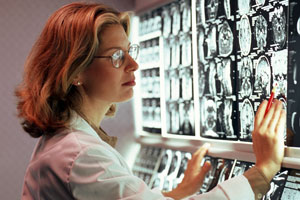 Functional magnetic resonance imaging is helping researchers understand the brain networks that are activated when people fall in love. Photo / Thinkstock