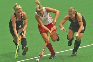 The Black Sticks remain unbeaten after upsetting England. Photo / Getty Images