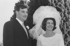 Harvey and Jeannette Crewe on their wedding day. Photos / Supplied