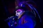 Adam Lambert. Photo / AP