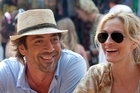 Bardem with Julia Roberts in <i>Eat Pray Love</i>. Photo / Supplied