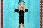 New Zealand's Melissa Ingram in the final of the women's 200m backstroke. Photo / Getty Images