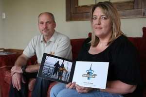 Richard and Viv Frost say they can't afford to pay  $6000 in airfares to claim their Kenyan prize. Photo / Natalie Slade