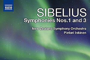 Sibelius, Symphonies 1 and 3. Photo / Supplied.