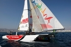 Dean Barker sails in last weekend's Extreme 40 series, in Spain. Photo / Supplied