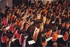 University of Auckland students graduation. Martin Sykes