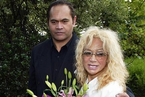 Wi Huata and his wife, Donna Awatere Huata. Photo / Hawke's Bay Today