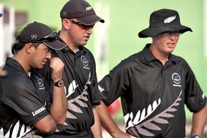 The New Zealand bowls team face missing out on the medals for just the second time since the event started in 1930. Photo / Getty Images