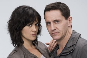 Miriama McDowell and Charles Mesure star in the final of  This Is Not My Life , tonight on TV One. Photo / Supplied