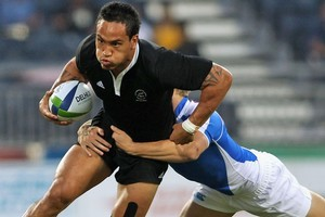 The New Zealand sevens team will be out to defend their title later tonight. Photo / Getty Images