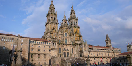 The cathedral in Santiago de Compostela, Galicia, Spain. Photo / Supplied