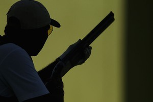 All shooters must remember to aim at their target, not their opponents. Photo / Getty images