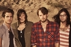 Kings of Leon take a calmer tone on their new album. Photo / Supplied
