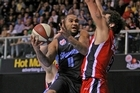 Kevin Braswell during the round two NBL match between the Breakers and the Perth Wildcats at North Shore Events Centre. Photo / Getty Images