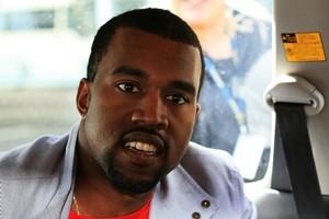 Kanye West. Photo / Martin Sykes