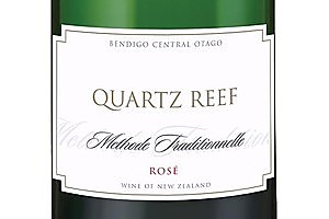 Quartz Reef Methode Traditionelle Rosé. Photo / Supplied