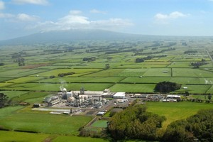 The GoClear solution will be made at Ballance's ammonia-urea plant at Kapuni, in Taranaki. Photo / Supplied
