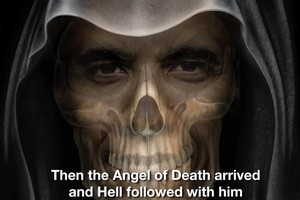 An ad that backs the tightening of abortion law depicts Barack Obama as the Angel of Death. Photo / Supplied