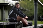 Siositina Hakeai, 16, holds the NZ junior discus record and is tipped to be the next Valerie Adams in field athletics. Photo / Natalie Slade
