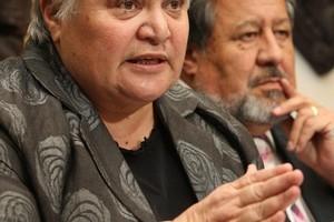 Maori Party co-leaders Tariana Turia and Dr Pita Sharples. Photo / Mark Mitchell