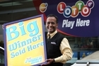 Mohammed Faruk, manager of Mobil Papakura, where last week's winning Lotto Powerball ticket was sold. Photo / Sarah Ivey